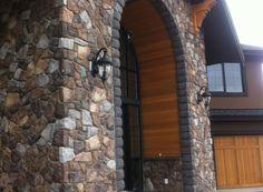 Cut Fieldstone (Color: Quarry) manufactured stone by Kodiak Mountain Stone