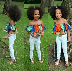 Trending Ankara Style : Top 12 Hottest Ankara Kid Style Suitable for Event in 2018 Ankara Styles For Kids, African Dresses For Kids, African Babies, African Children, Kid Styles, African Women, African Print Fashion, Africa Fashion, African Fashion Dresses