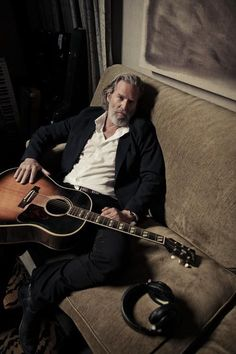 Bridges and guitar Thunderbolt And Lightfoot, Jeff Bridges, Sheer Socks, The Big Lebowski, Al Pacino, Daddy Bear, Jack Nicholson, Celebs, Celebrities