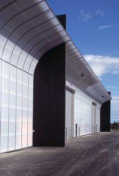 Port of Aarhus, Warehouses 302 and 304  C.F. Møller. Photo: Julian Weyer