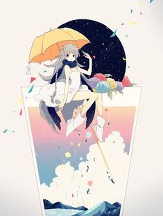 Find images and videos about art, anime and kawaii on We Heart It - the app to get lost in what you love. Manga Art, Manga Anime, Anime Art, Loli Kawaii, Kawaii Anime, Desu Desu, Japon Illustration, Image Manga, Anime Style