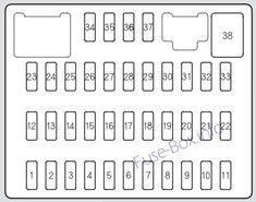 acura rdx (2007, 2008) fuse box diagram electrical fuse, acura rdx,