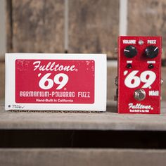 Fulltone '69 MKII   Pedals and Effects Available at Garrett Park Guitars   www.gpguitars.com