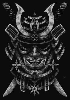 Masque de samouraï - mask # samurai - Mascara Samouraï – # samouraï Informations About Mascara samurái – - Samurai Maske Tattoo, Samurai Warrior Tattoo, Warrior Tattoos, Samurai Tattoo Sleeve, Oni Mask Tattoo, Hanya Tattoo, Ronin Tattoo, Demon Tattoo, Arte Ninja
