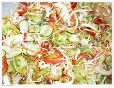 Salad for jars - pychaaaaaa - Przepisy - Wurst Pots, No Waste, Meals In A Jar, Polish Recipes, Roasted Turkey, Side Salad, Canning Recipes, Breakfast Recipes, Cabbage