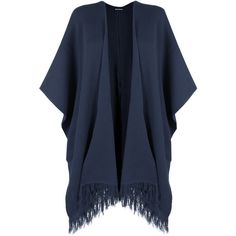 Alice Knitted Tassle Shawl ($34) ❤ liked on Polyvore featuring accessories, scarves, navy blue, oblong scarves, navy shawl, navy blue scarves, shawl scarves and navy scarves