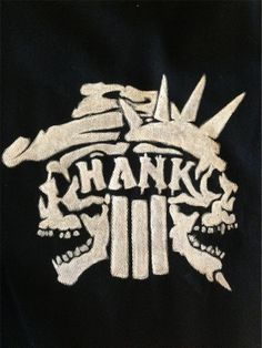 Hank 3 Punk Patch