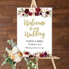 New Welcome〜Weddingの部分は インパクト・躍動感のある人気のカリグラフィーを使用。 #ウェルカムボード #ウエルカムボード #海外 #ペーパーアイテム #プレゼント #お祝い #花 #花嫁diy #プレ花嫁 #前撮り #結婚式 #装飾 #ウェディング #海外風 #ブライダル #葉 #イニシャル #wedding #フラワー #受付 #ナチュラル #ヴィンテージ #シンプル #アンティーク #パネル #ラプンツェル #婚約 #ピンク #ボタニカル #水彩 #人気 #ラプンツェル #花柄 #花 #インパクト #エレガント #ハワイ #春 #シンプル #バレンタイン 水彩ペンで書いたような色合いになるよう グラデーション色に加工してあります♪ 一番下の部分には ゲストの皆様への感謝の気持ちを込めたメッセージ入り♪ こちらも今流行りのカリグラフィーを使用。 Trendy Wedding, Wedding Styles, Dream Wedding, Welcome Boards, Frame Layout, Welcome To Our Wedding, Creative Wedding Ideas, Diy Wedding Decorations, Photo Booth