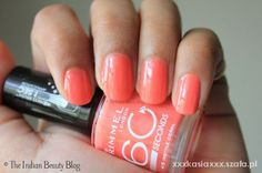 rimmel 415 Instyle Coral