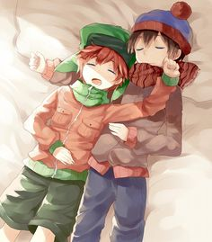 South Park - Stan Marsh x Kyle Broflovski - Style