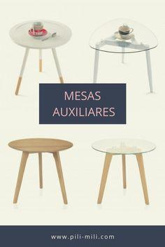 pili-mili.com / Mesas auxiliares salón / ¡Aquí tienes una pequeña selección de nuestras mesas auxiliares preferidas! Muchas más en pili-mili.com