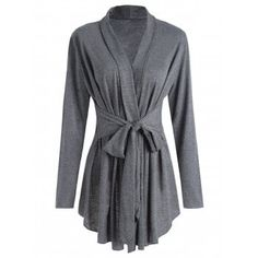 SHARE & Get it FREE | Shawl Collar Marled Wrap CardiganFor Fashion Lovers only:80,000+ Items·FREE SHIPPING Join Dresslily: Get YOUR $50 NOW!
