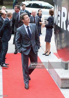 Crown Prince Frederik and Crown Princess Mary of Denmark attend official visit to Canada - Day 2 at MARS Discovery District on September 2014 in Toronto, Canada. Get premium, high resolution news photos at Getty Images Canada Day, Toronto Canada, Mars Discovery, Crown Princess Mary, Denmark, Centre, September