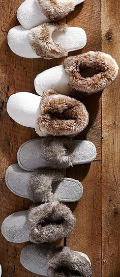 Faux Fur Cabin Slippers                                                                                                                                                                                 More