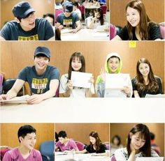 BoA, Choi Daniel, ZE:A's Siwan, Kim Ji Won, and more were all smiles during their script reading session for new KBS drama 'Hope for Dati… Choi Daniel, Come Together, Kim Ji Won, All Smiles, Korean Actors, Script, Dating, Baseball Cards, Dramas