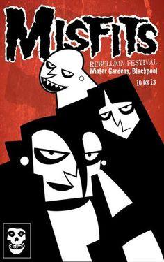 Misfits - Rebellion Festival - Blackpool 2013 - Mini Print