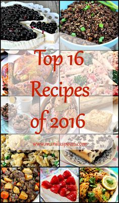 Here's a round-up of our most popular, most pinned and most viewed recipes of 2016! A variety of tried and tested, sweet and savory dishes that the whole family can enjoy throughout the years to come.