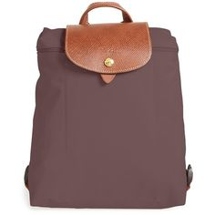 Women\u0026#39;s Longchamp \u0026#39;Le Pliage\u0026#39; Backpack RUB) ? liked on Polyvore featuring bags, backpacks, terra, water resistant bag, longchamp backpack, longchamp bag, ...