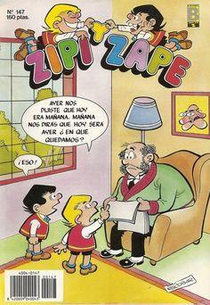 ¡La de horas que nos hemos pasado leyendo a Zipi y Zape!