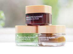 L'Oreal Paris Smooth Sugars Scrubs / British Beauty Blogger #loreal #skincare #sugarscrubs #bbloggers