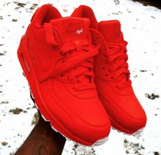 the best attitude 70c6d 72450 Gotta cop  em All Red Nike Shoes, Red Nike Shoes Womens, Nike Air