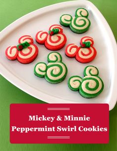 Add some Disney flair to your winter festivities with these delicious Mickey and Minnie Mouse holiday cookies.