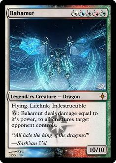 Magic the Gathering. Imagine having this card.... Imagine it..OMG....