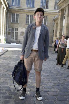 Kien in Paris | Street Fashion