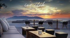 ★ Ios Club Cocktail Bar - Greece ★ Restaurant Bar, Greece, Conference Room, Cocktails, Places, Ios, Turkey, Wanderlust, Hotels