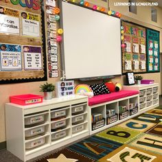 Learning in Wonderland Classroom Tour Classroom Setting, Classroom Setup, Classroom Design, Classroom Organization, Classroom Hacks, Music Classroom, Future Classroom, Closet Organization, Organizing