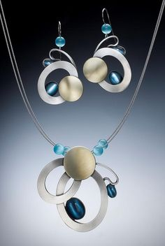 Necklace and Earring set by Christophe