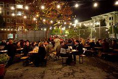 year round Oktoberfest @ the outdoor pop-up Biergarten