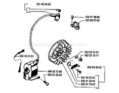 Stihl MS 180 Chainsaw (MS180C-B D) Parts Diagram, Air