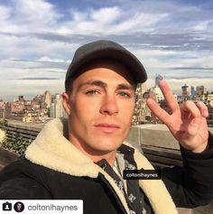 #TheGrinder & #Arrow star Colton Haynes wears Gents Co Cashmere Cap.  #GentsCo #mensaccessories #mensfashion #menswear #mensstyle #menfashion #menstyle #style #fashion #hat #hats #caps #baseballhat #ballcap #baseballcap #accessories #ColtonHayes #NYC #NY #NewYork
