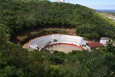 Praça de touros de Santa Cruz da Graciosa, na Ilha Graciosa