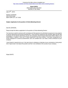 Online Cover Letter Template Elango Delangobio On Pinterest