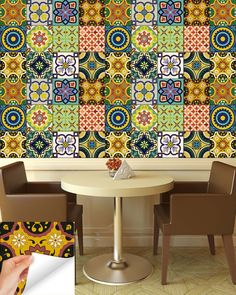 24 tile stickers kitchen idea bathroom Tiles Decals bathroom stickers – alegria-m