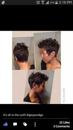 The Living Room Hair Lounge#detroit#shorthairdontcare