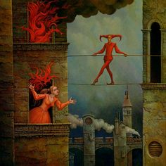 Michael Hutter is a German painter, a visual artist in the classical meaning of the word. Arte Horror, Horror Art, Images Terrifiantes, Art Tumblr, Arte Obscura, Weird Art, Renaissance Art, Psychedelic Art, Surreal Art