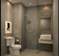 Contemporary | Bathroom | Parkland Avenue Show Unit | Tangerang Selatan | Kristella Wu Interiors