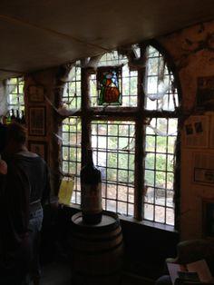 Met owner Dr. Rijk Markl.  Cobweb decor!!  Wonderful CabFranc Rose'.