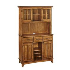 Home Styles 5100-0066-62 Buffet of Buffets Cottage Oak Wood with Hutch, Cottage Oak Finish, 41-3/4-Inch HomeStyles,http://www.amazon.com/dp/B000R6T8NM/ref=cm_sw_r_pi_dp_su3Dtb1VQ5NVBQJJ