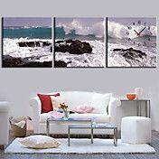 moderne stijl schilderachtige canvas wandklok... – EUR € 65.99