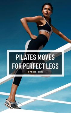 5 straightforward Pilates moves that will give you super sexy, Gisele Bündchen legs. // #Fitness #Exercise