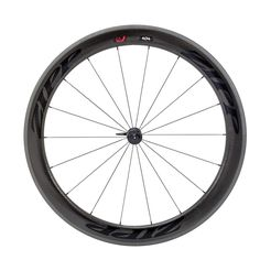 08fa6bebcf8 Zipp 404 Firecrest Carbon Clincher Front Wheel 18 spokes Black Decal