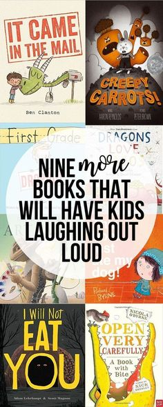 Nine More Funny Picture Books That Will Have Your Kids Laughing Out Loud is part of Classroom books - We are on a serious funny book kick around here We all enjoy laughing out loud to some really great books We've come across some really good ones Preschool Books, Book Activities, Sequencing Activities, Kids Reading, Teaching Reading, Learning, Reading Books, Reading Lists, Reading Wall