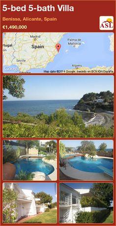 5-bed 5-bath Villa in Benissa, Alicante, Spain ►€1,490,000 #PropertyForSaleInSpain
