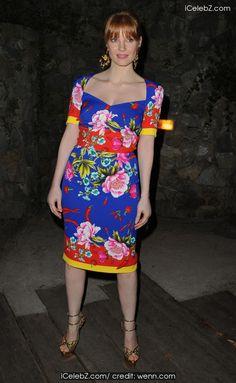 Jessica Chastain Ischia Global Festival 2014 Gala Dinner http://icelebz.com/events/ischia_global_festival_2014_gala_dinner/photo3.html