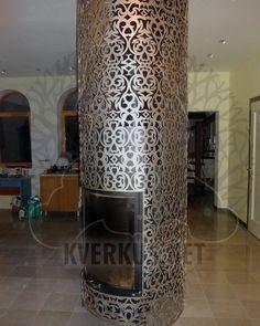 Мы производим изделия из металла, которые нельзя купить. Moroccan Lanterns, Moroccan Decor, Wall Molding, Diy Molding, Columns Decor, Pillar Design, Iron Wall Decor, Side Coffee Table, Column Design