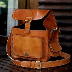 Leather camera bag!